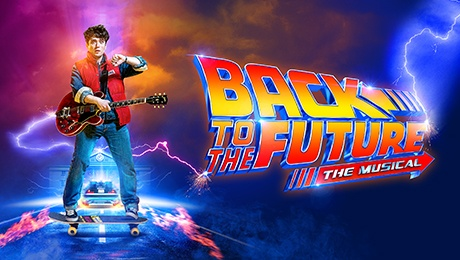 Back to the Future the Musical at Manchester Opera House