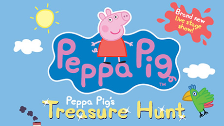 Peppa Pig's Treasure Hunt at New Wimbledon Theatre