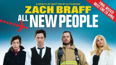 Zach Braff - He's the Zach of all trades...