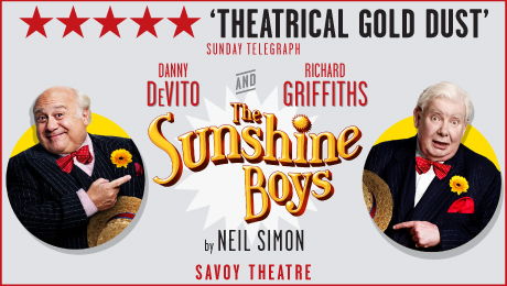 Barbara Ellen's Observer interview with star of The Sunshine Boys, Danny DeVito
