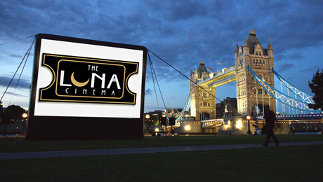 Introducing the Luna Cinema: 2012's open air cinema season