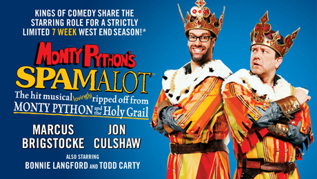 Critical acclaim for the new 2012 production of Spamalot