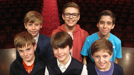 Goodnight Mister Tom boys now cast!