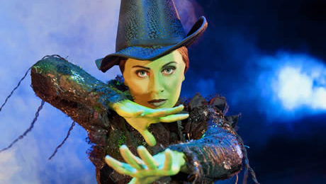 First look: Louise Dearman as Elphaba in London's record-breaking hit musical Wicked
