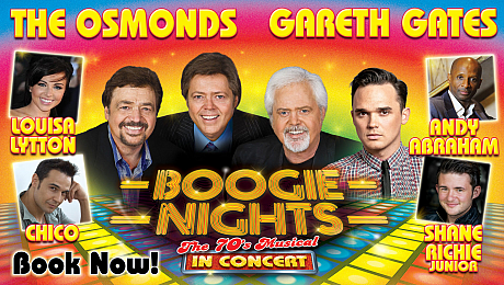 Stellar line-up star in Boogie Nights - The 70s Musical in Concert