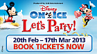 Win a VIP family ticket to Disney On Ice presents Let's Party!