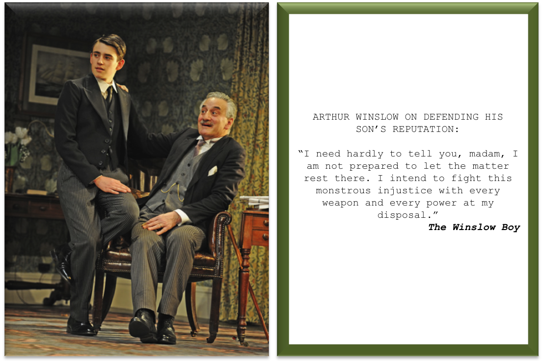 The Winslow Boy fathers day card