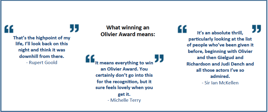 Laurence Olivier Awards 2013